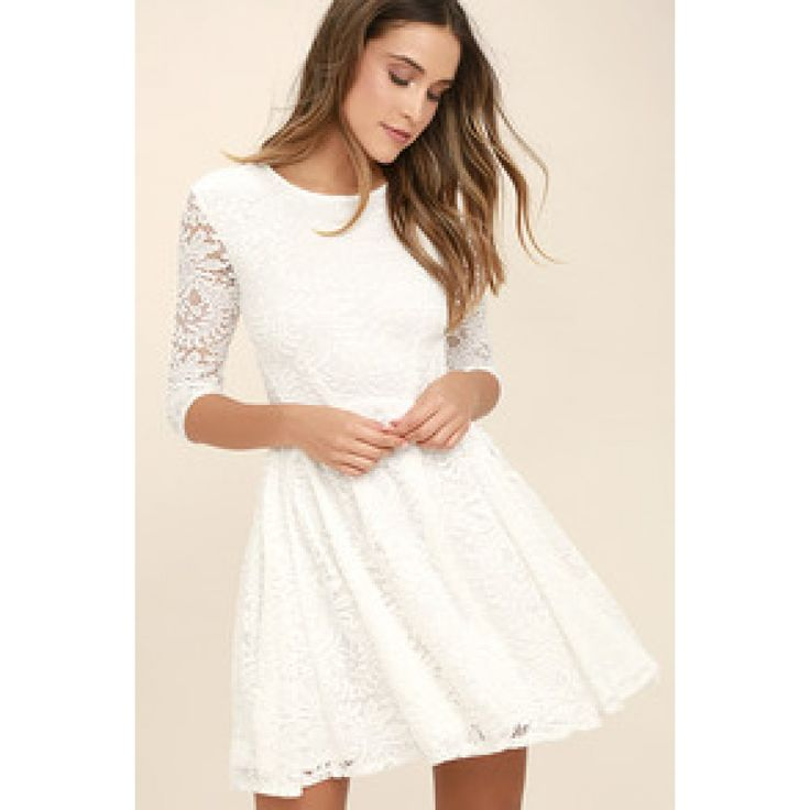 Be-Gauze I Love You Cream Lace Dress   Lace dress, Clothes and ...