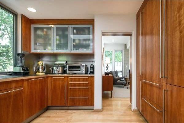 Mid Century Modern Kitchen Cabinets Wood Mid Century Modern Ki