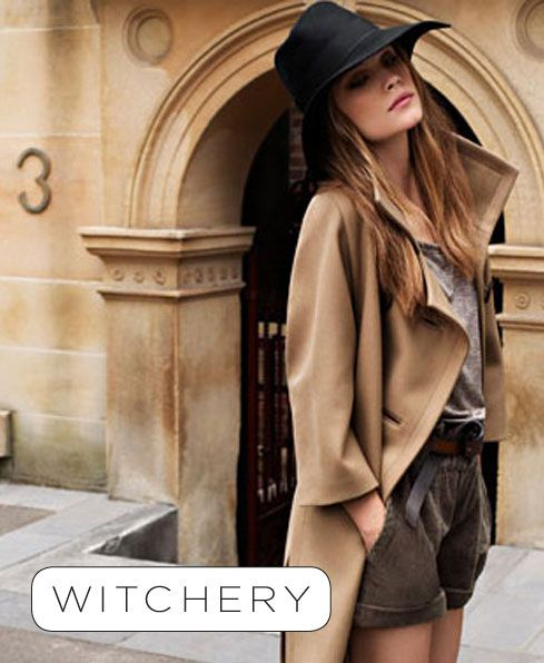 We're counting down the days until two of Australia's best-loved fashion brands, Witchery and Mimco, are available at Woolworths
