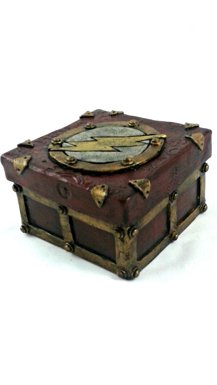 The Flash stash box - steampunk/industrial - pinned by pin4etsy.com