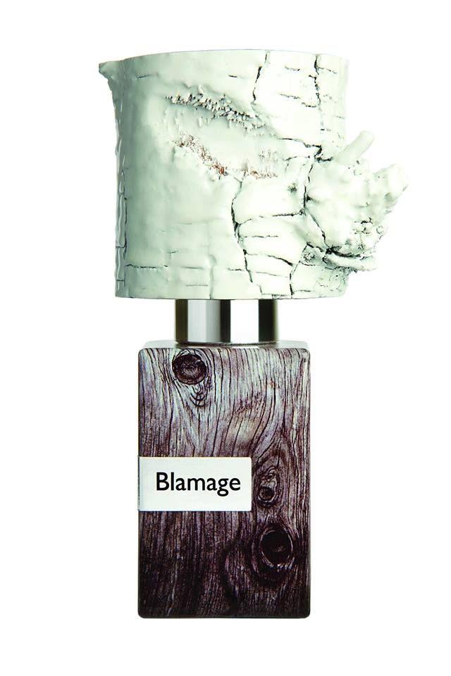 Nasomatto Blamage Extrait de parfum 30ml  Questa bottiglia di profumo fa parte del progetto Nasomatto.  Questa fragranza e' una insensata e sfortunata creazione causata da un giudizio errato.
