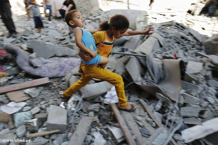 Gaza. Palestinian Genocide Committed By Jewish People. July August 2014. Jewish Crimes against humanity