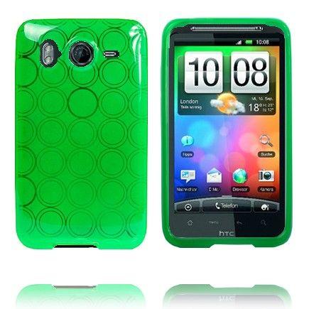 Amazona (Grøn) HTC Desire HD Cover