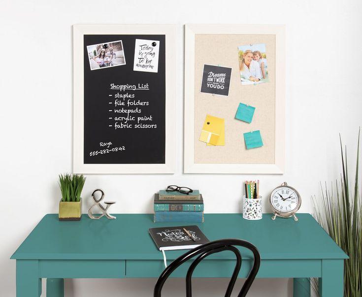 Framed Magnetic Chalkboard