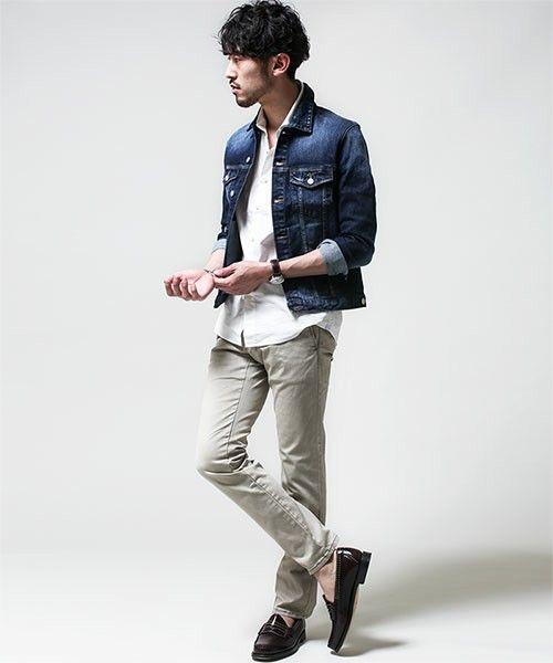 NU ヴィンテージGジャン(デニムジャケット)|nano・universe Mens(ナノユニバースメンズ)のファッション通販 - ZOZOTOWN