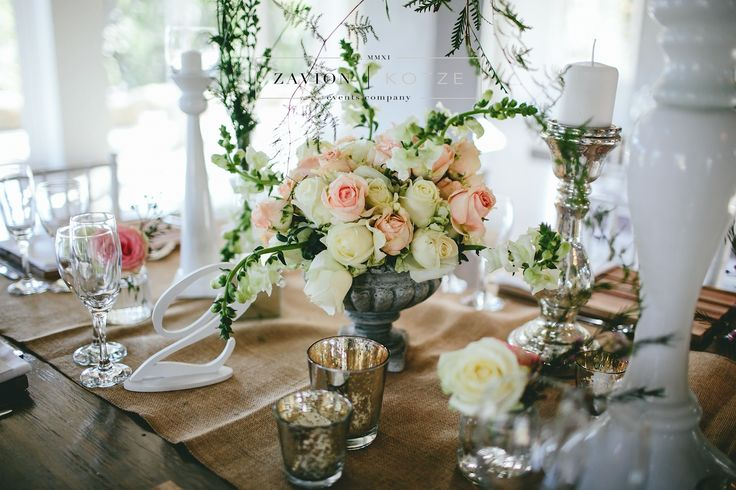 Beautiful wooden tables, tiffany chairs, elegant wedding. green and white flowers, hanging flowers, hanging arrangements.Zavion Kotze Events Company -Weddings, Luxury Weddings, Bride to be, Wedding day, bride, wedding flowers, wedding hour, wedding season, decor, décor. roses, white, pink, gold, wedding