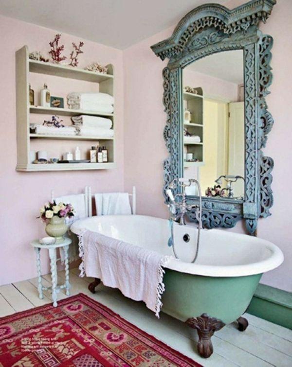 Le grand miroir mural 25 id es pour d 39 arrangement et - Grands miroirs muraux ...