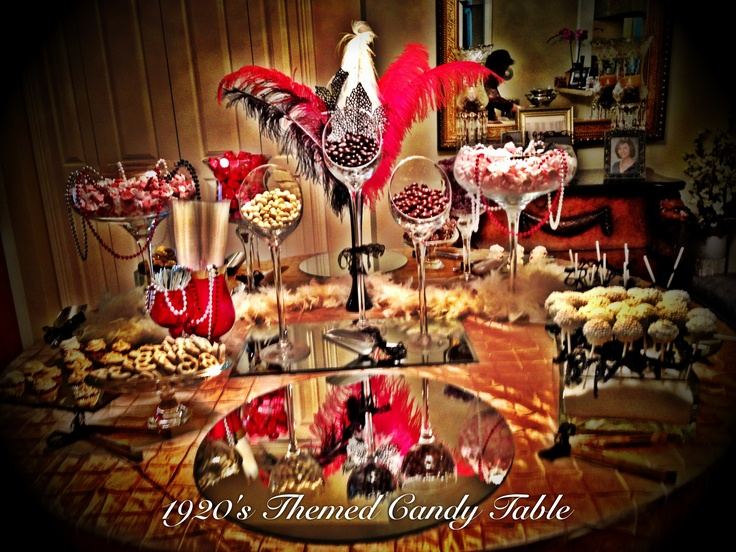 1920s Candy Table Desserts Pinterest Candy Table And