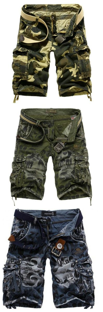 Shop unique camo mens shorts; Explore unique military cargo shorts for men at RebelsMarket  #camoshorts #menscamo #camouflage #camoclothing
