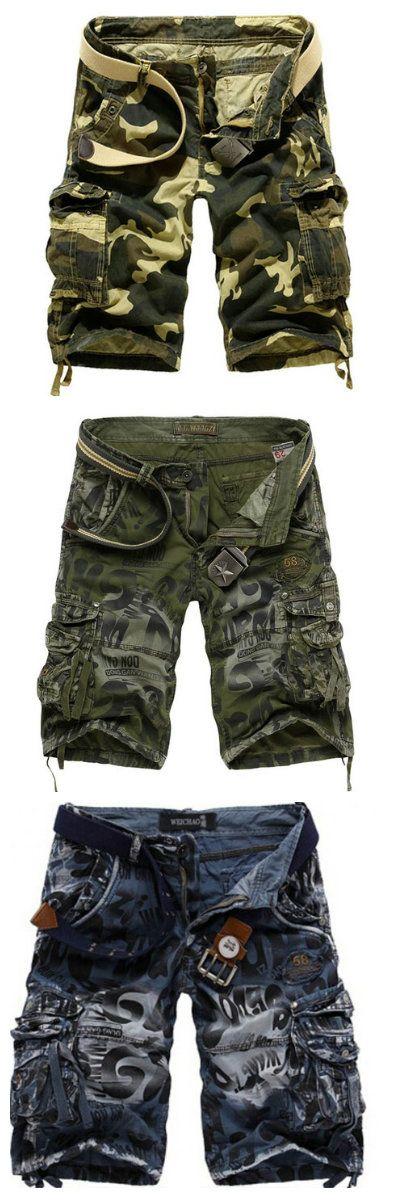 Shop unique camo mens shorts; Explore unique military cargo shorts for men at RebelsMarket  #camoshorts #menscamo #camouflage #camoclothing