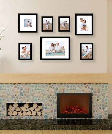 assorted picture frame set