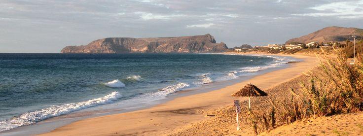 Porto Santo Beach Praia do Porto Santo Meet Madeira - Madeira and Porto Santo Guide: http://www.meetmadeira.pt