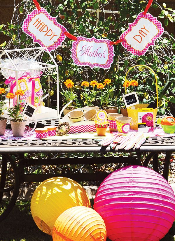 Mother's Day Brunch w/free Printables