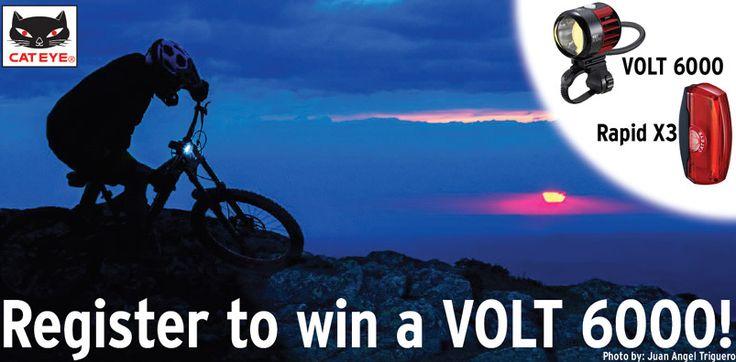 CatEye - Win Volt 6000 & Rapid X3 Bike Lights - http://sweepstakesden.com/cateye-win-volt-6000-rapid-x3-bike-lights/
