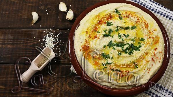 Pate de naut (Hummus) - Reteta VIDEO