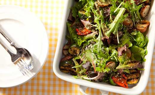 #Epicure Garlic-Dill Summer Salad