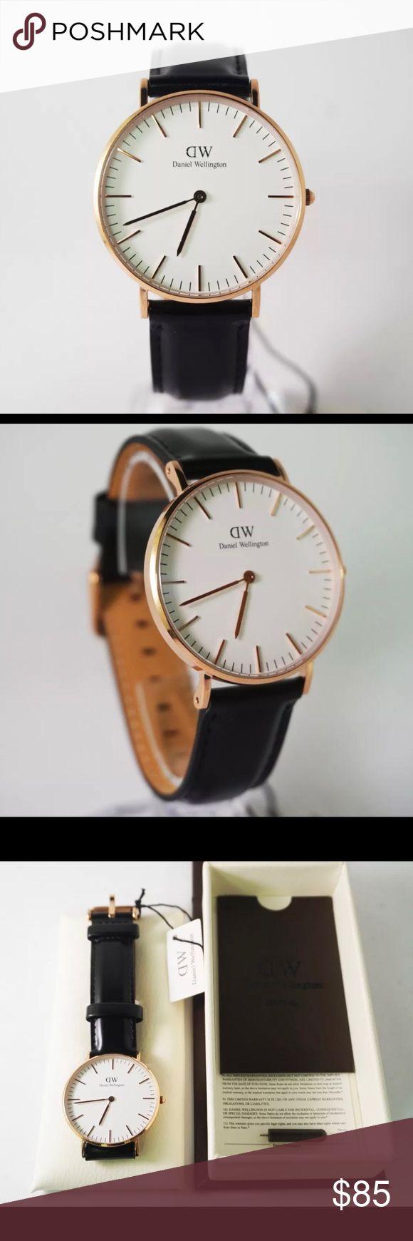 ❗️SALE❗️DANIEL WELLINGTON CLASSIC BROWN WATCH 36mm BRAND NEW 36mm Black and Rose Gold Daniel Wellington Accessories Watches