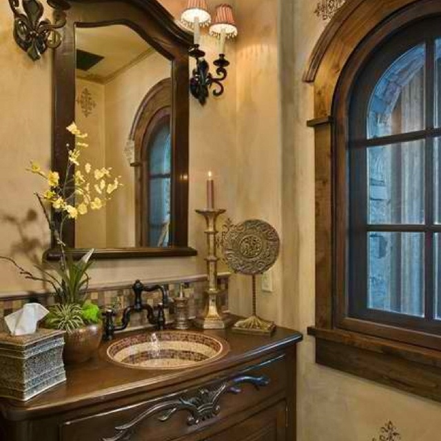 Bathroom Mediterranean Style: 1000+ Ideas About Mediterranean Bathroom On Pinterest