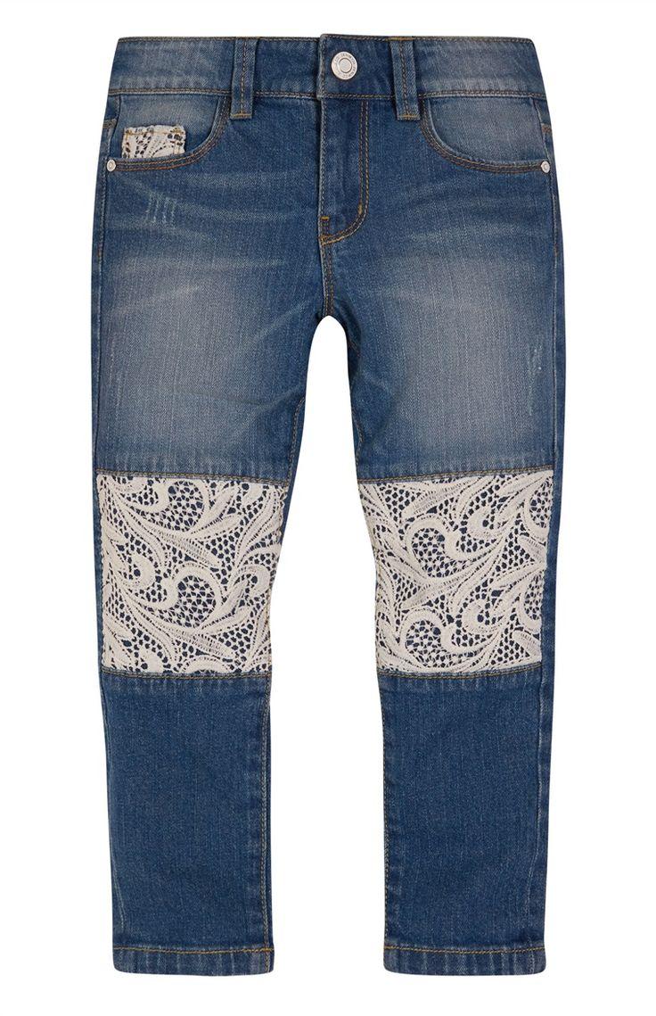 Primark - Jeans met gehaakte kniestukken