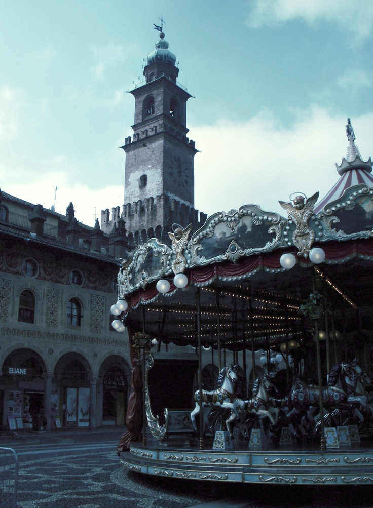 The carousel, Vigevano Italy