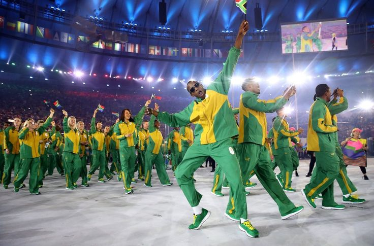 SA Team's Opening Ceremony Outfits Voted BEST at the Olympics!