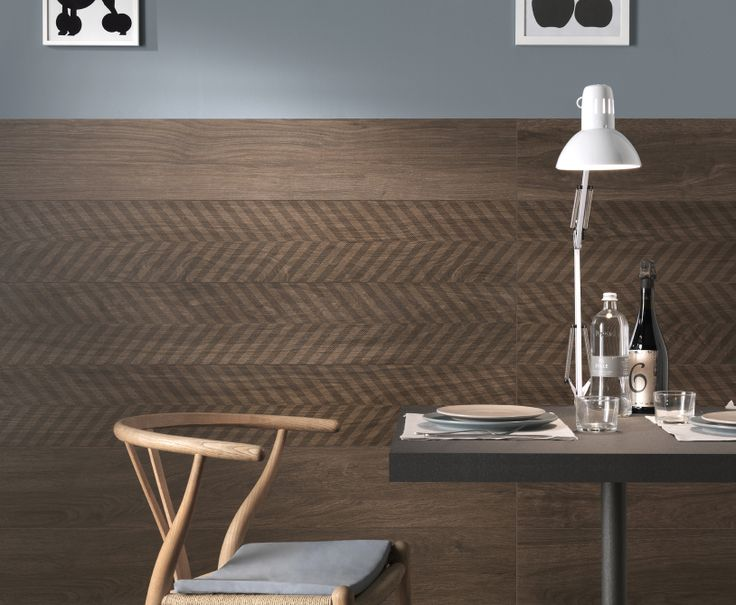 Brilliant Restaurant Wall Using 3mm Thick Patterned Timber Look Tiles Contact Signorino Tile Gallery