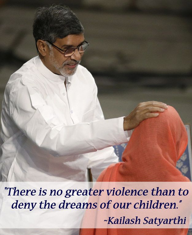 The 13 Greatest Quotes From Malala Yousafzai And Kailash Satyarthi's Nobel Peace Prize Ceremony