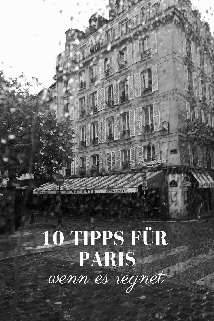 Paris Regen Tipps: Was man bei Regen in Paris machen kann