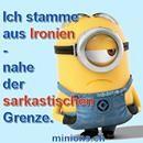 Ich stamme aus Ironien ... | minions.ch