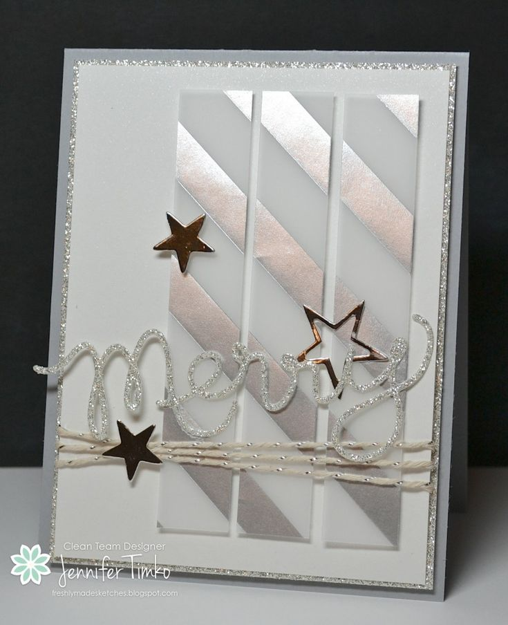 Paper:  Shimmery White, Silver Glimmer,Silver Fancy Foil, Smoky Slate; Accessories:  Big Shot, Expressions Thinlits (ret), July Paper Pumpki...
