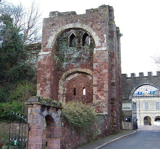 Rougemont Castle, also known as Exeter Castle, is the historic castle of the city of Exeter, Devon, England