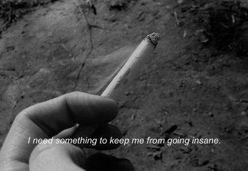 Smoking.. / self harm..