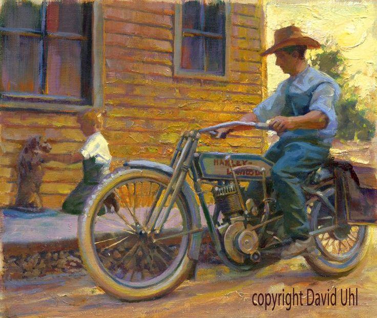 212 best david uhl art images on pinterest motorrad kunst poster und indische motorr der. Black Bedroom Furniture Sets. Home Design Ideas