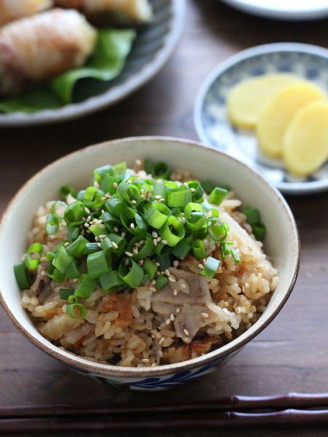 秋の味覚をギュッと詰め込み♡今晩作りたい「炊き込みご飯」レシピ - LOCARI(ロカリ)