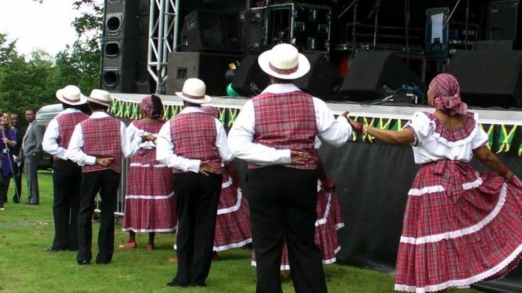 Jamaica Independence Festival 50 Huddersfield 5 Aug 12  3 Quadrille Danc...