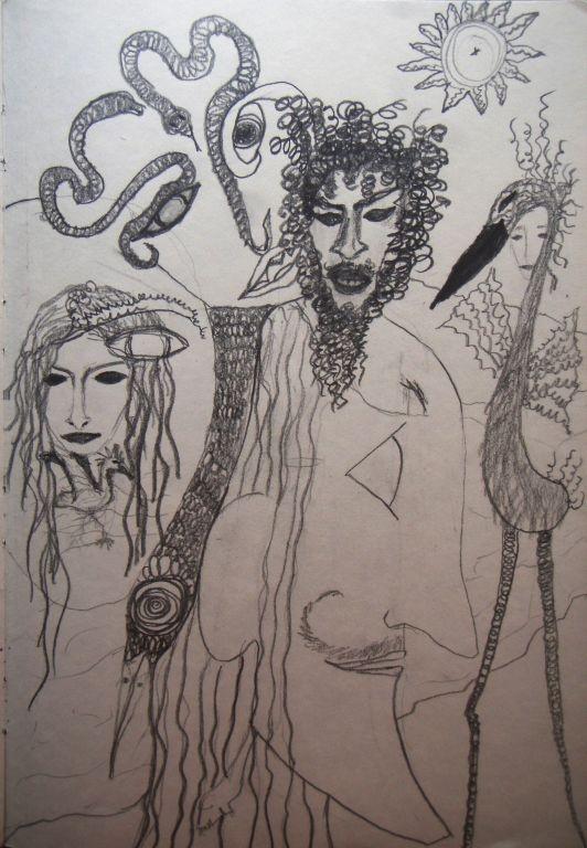 Dionisos en sueno