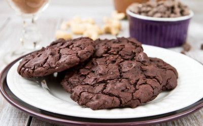 Double-Chocolate-Chip Cookies