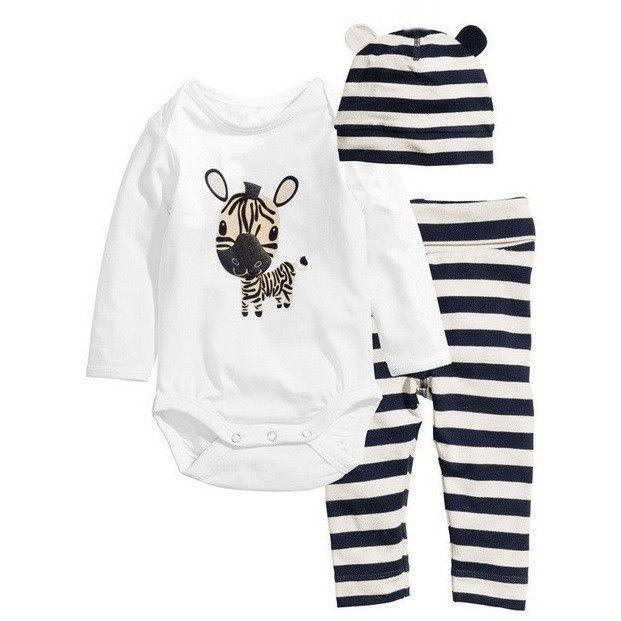Baby Romper Clothing 3pc set