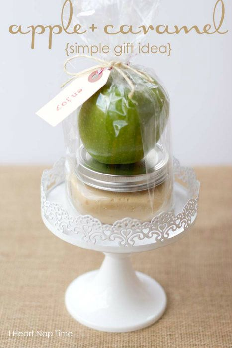 Caramel Apple Gift Idea
