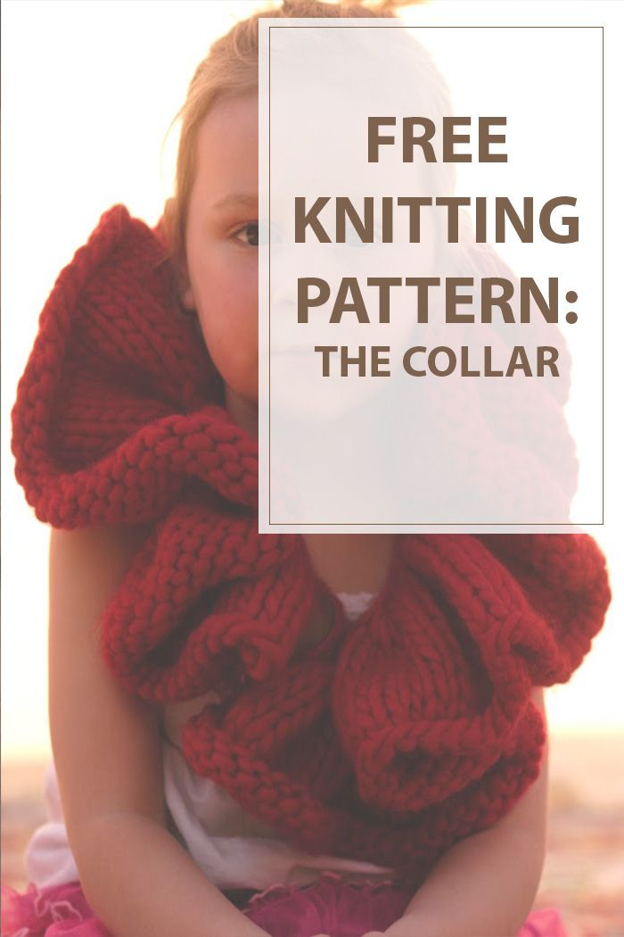 The collar is an easy and really cute knitted collar for your little girl , I used cascades magnum yarn because I just love them!Enjoy knitting.