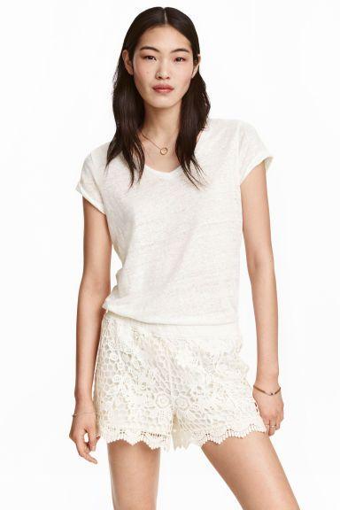 Кружевные шорты | H&M