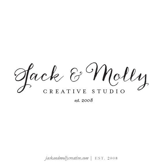 Handwritten Script: Text-Only Pre-made Logo Design, Super Easy and Fast Branding Option