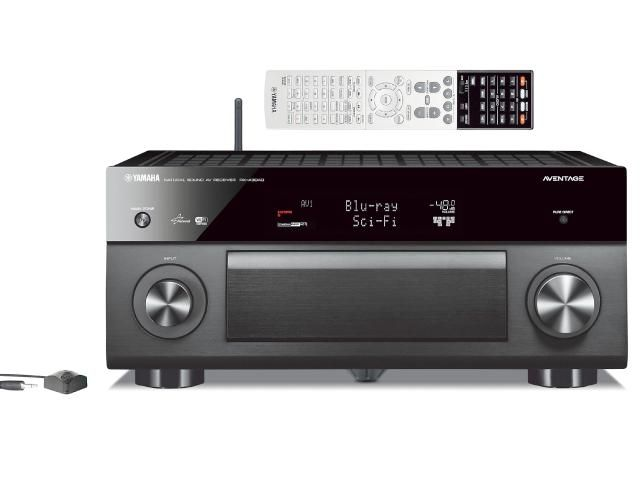 The Best High End Home Theater Receivers: Yamaha AVENTAGE RX-A3040 Multi-Zone Network Home Theater Receiver