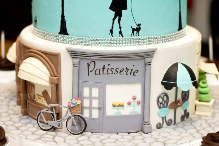 Most Amazing Paris Birthday Cake. Just fabulous! Sure wish I could get this for my daughter's 21st!
