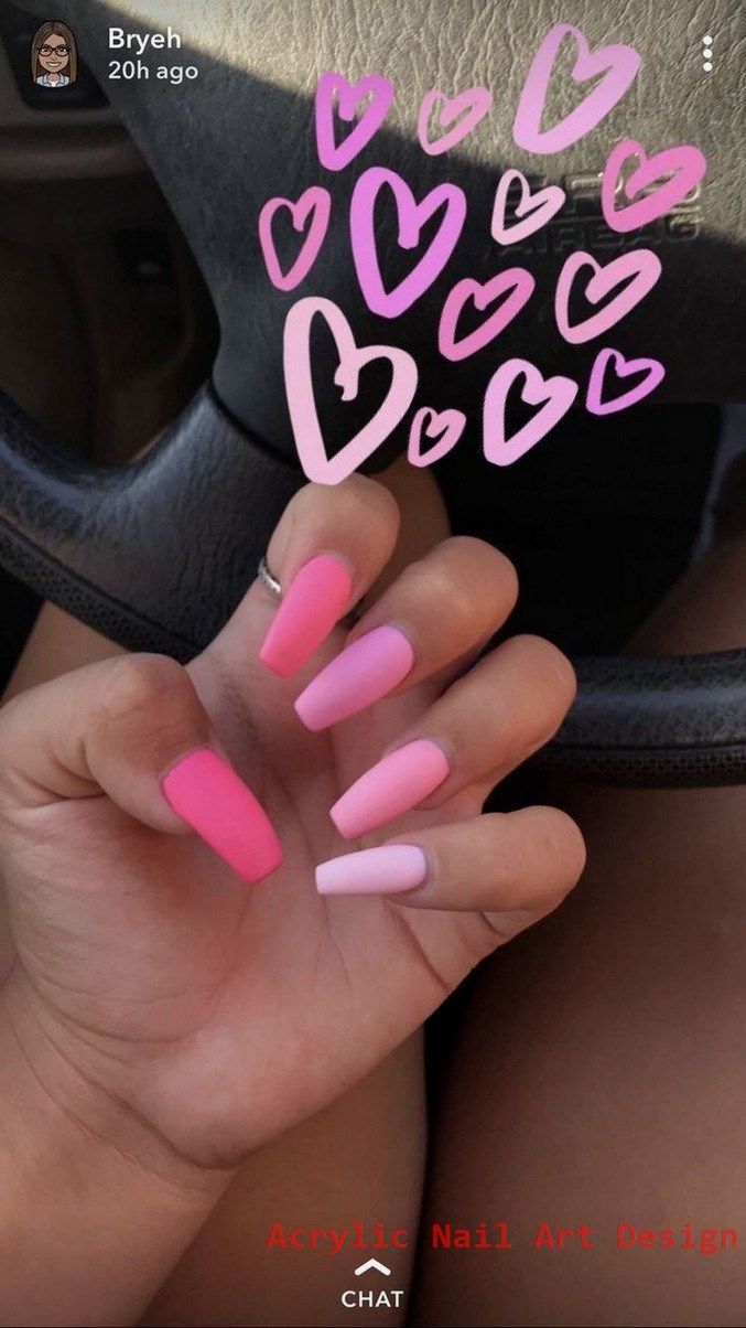 Best acrylic nails for valentines day 13
