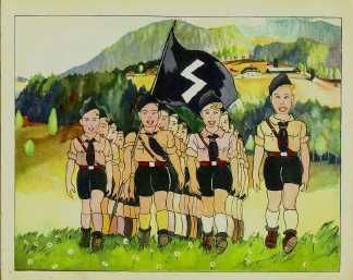 The Hitler Jugend From Julius Streicher's Book Don't Trust A Fox On His Heath Or A Jew On His Oath