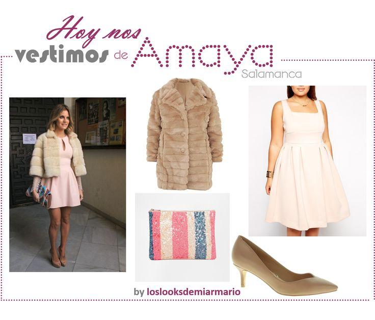 #guiadecompras #loslooksdemiarmario #vestido @asos #abrigopeluche @newlook #zapatos #marypaz #cluthlentejuelas @asos #amayasalamanca #bloggermadrid #fashionblogger #mujerreal #curvy #mujerconcurvas #copiarlook #looknude