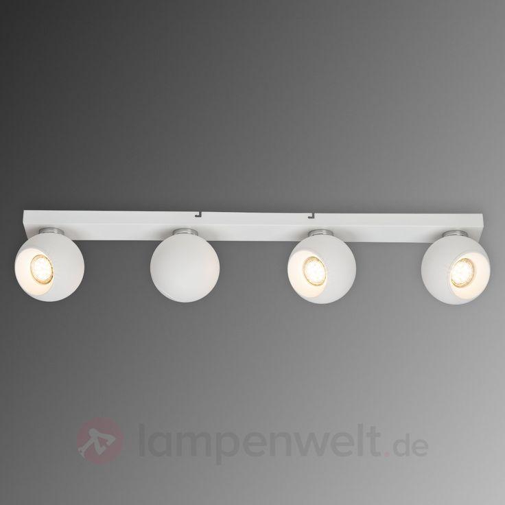 Vierflammige LED-Deckenlampe White Ball sicher & bequem online bestellen bei Lampenwelt.de.
