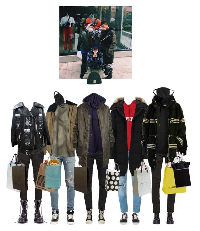"""""""X Weapon ✘ Christmas gifts"""" by x-weapon ❤ liked on Polyvore featuring Yves Saint Laurent, Levi's, RtA, adidas Originals, Dr. Martens, Bianca Chandôn, BLK DNM, Balmain, Canada Goose and Vans"""