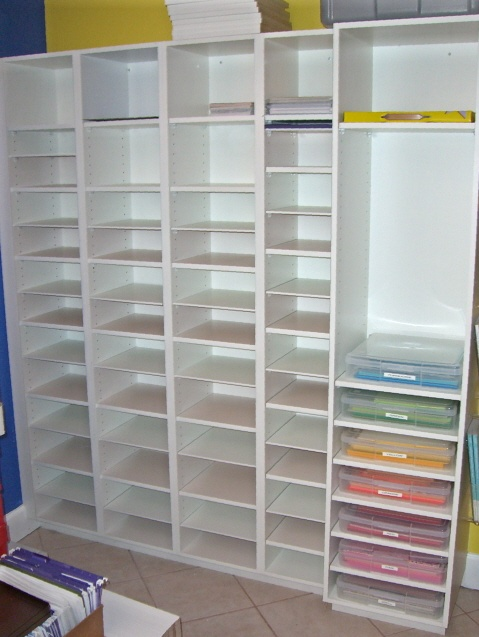 custom paper storage